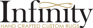 Infinity Hand Crafted Custom Rugs Logo